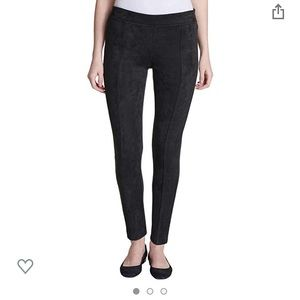 Andrew Marc Super Soft Faux Suede Pull On Pants